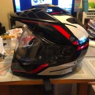 【SHOEI】HORNET-ADV SEEKER [TC-1 Red/Black] HelmetUlasan Produk :name