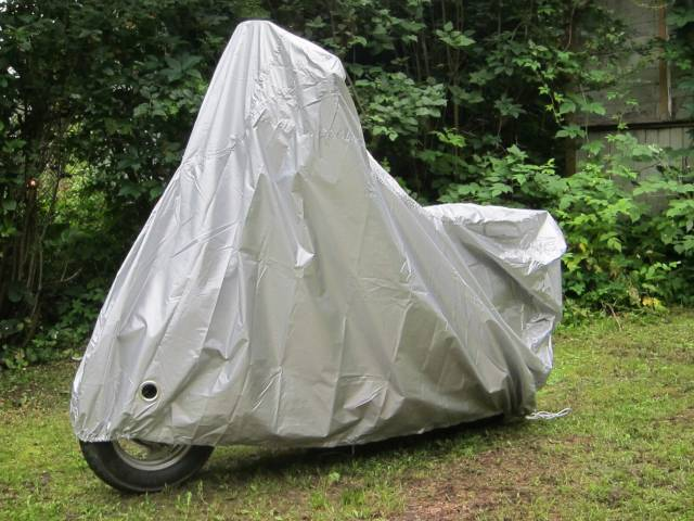 【unicar】Taffeta Bike Cover for Vehicle with Tail Box Type AUlasan Produk :name
