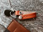 HONDA RIDING GEAR Leather Belt Key Ring