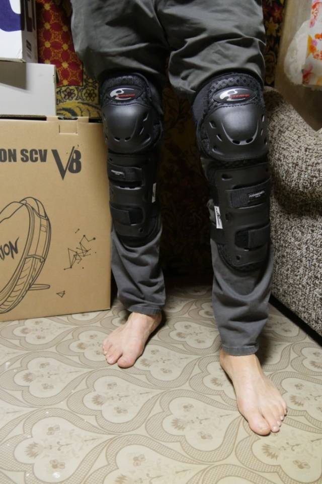 【KOMINE】SK-491 Extreme Knee-Shin Protectors:name's product reviews