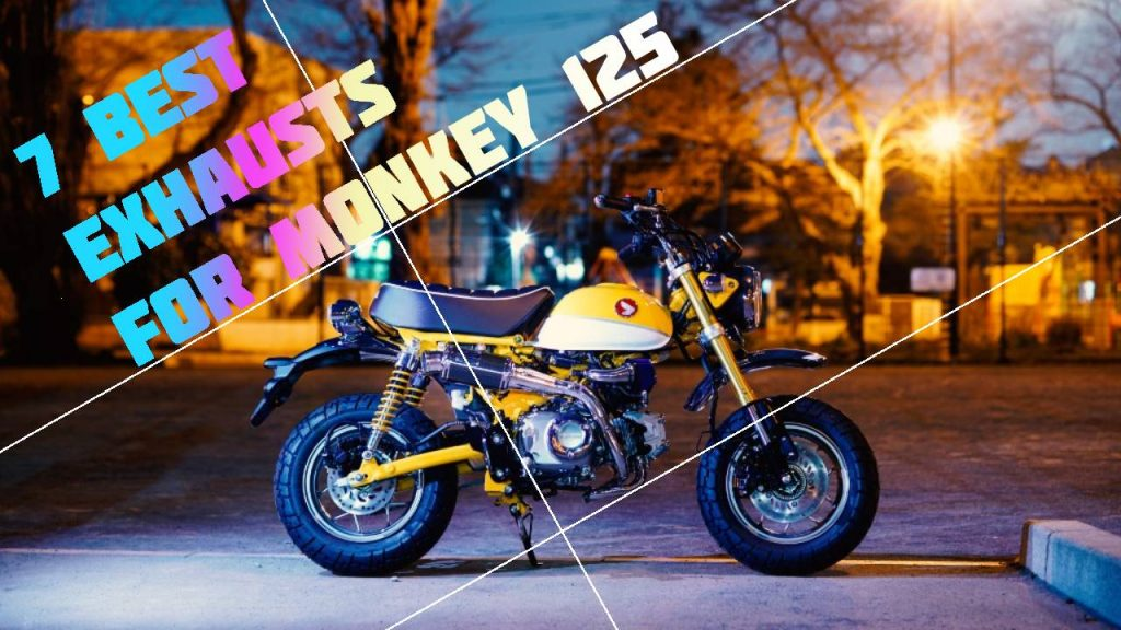Top 7 Monkey 125 Exhaust Systems