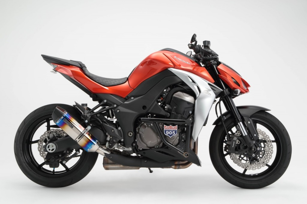 new beams exhausts for z1000 gsx s1000 motorcycle news. Black Bedroom Furniture Sets. Home Design Ideas