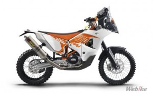 Orders are Accepted for The KTM 450 Rally 2017 Factory Replica Model