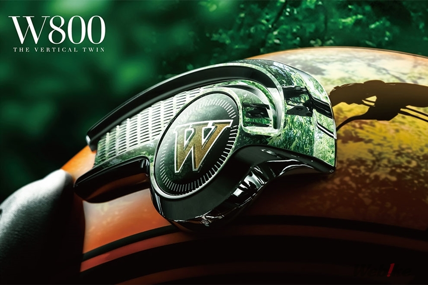 The History Of Air Cooled Vertical Twin Engine Is To Be Ended Kawasaki Has Announced Sales Launch TheW800 Final Edition
