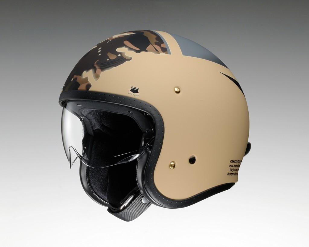 53b9dbea How About an Open Face Helmet with an Internal Sun Visor ...
