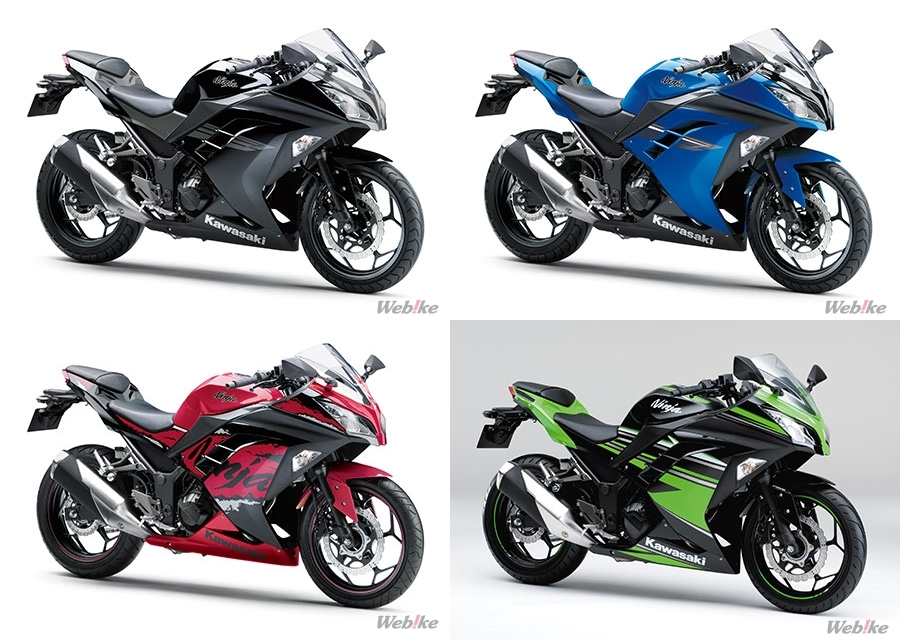 KAWASAKI Has Announced That They Will Be Releasing Ninja 250 ABS Special Edition KRT On 1st September