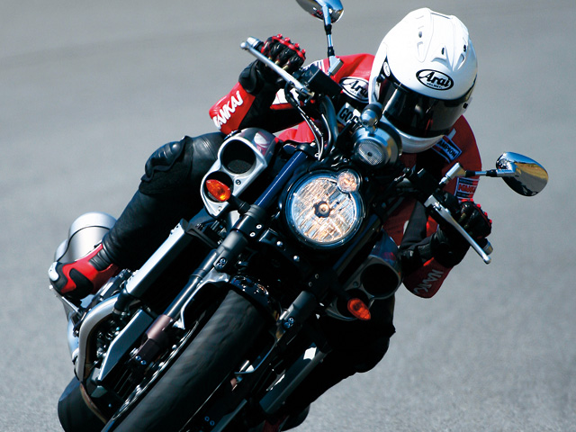 """Test Ride Review] """"V-MAX 1680""""; the Gentle Beast   Motorcycle News ..."""