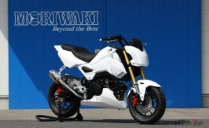 "MORIWAKI is Launching New Race Use Machine, ""MORIWAKI GROM RACING COMPLETE"""