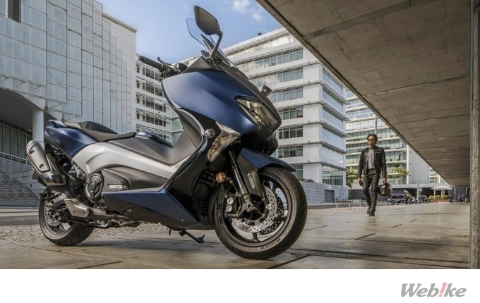 "New Motorcycle] YAMAHA Launched New 2017 Model ""TMAX"" in"