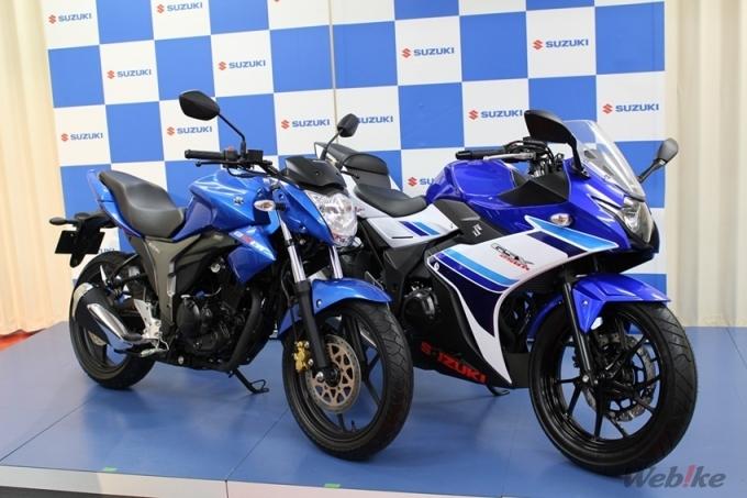 The Theme Is Making Cool Motorcycles Suzuki Gsx 250 R Gixxer