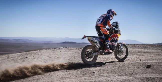 Sam Sunderland KTM 450 RALLY Atacama 2017