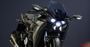 KAWASAKI H2GT is a Full-Cowl Tourer with Three-Eyed Face!?