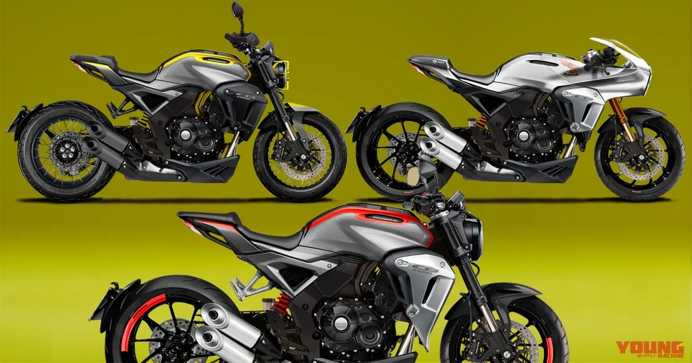 OHONDA 2018 New CB1000R Center Expected CG Announcement Time October 25th