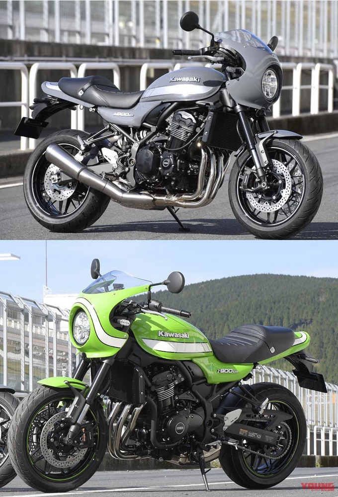 This Is The Color Variation Of Z900RS Cafe Found Time Green Published As Vintage Lime In Europe Looking Only At Tank