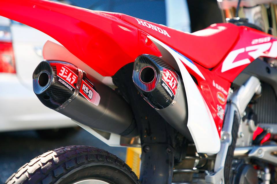 Yoshimura Rd Made 2018 Crf250r Exhaust Systems Motorcycle News