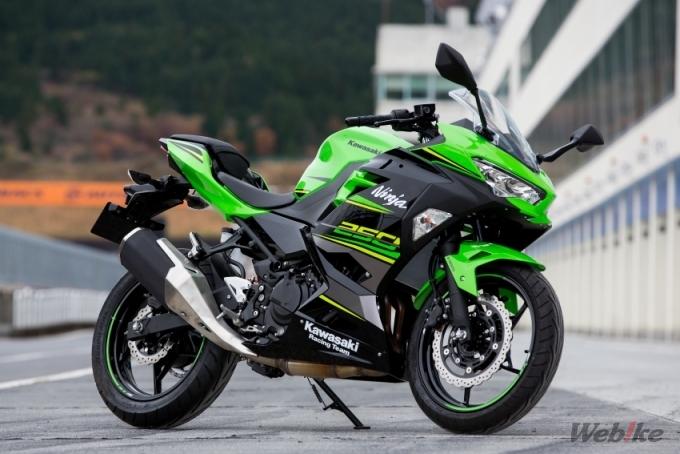 Kawasaki Ninja250 Test Ride Motorcycle News Webike Japan