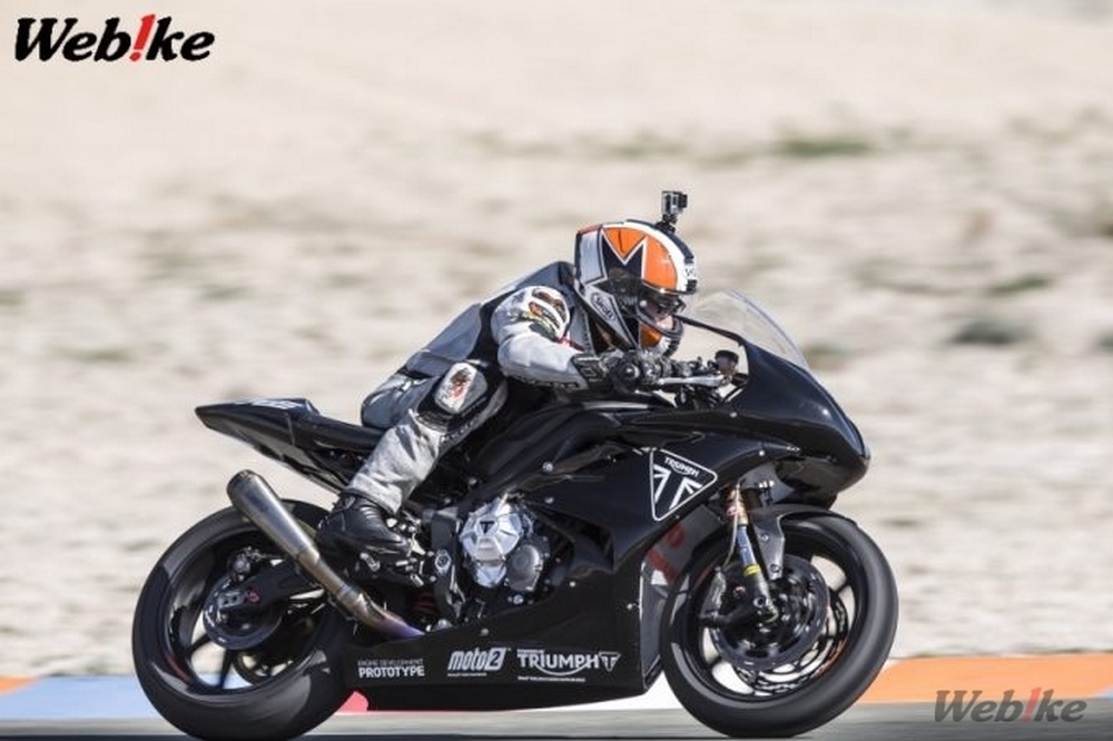 Triumph Moto 2 Machine 1st Test Drive How Powerful Is The 3