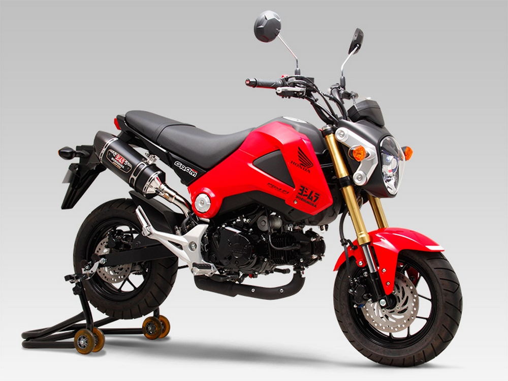 Yoshimura Exhaust System for GROM [JC61/ JC75] is strongly