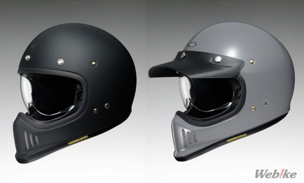 """4b2a9177 New Product] SHOEI Launches New Full Face """"EX-ZERO"""" in December OFF ..."""