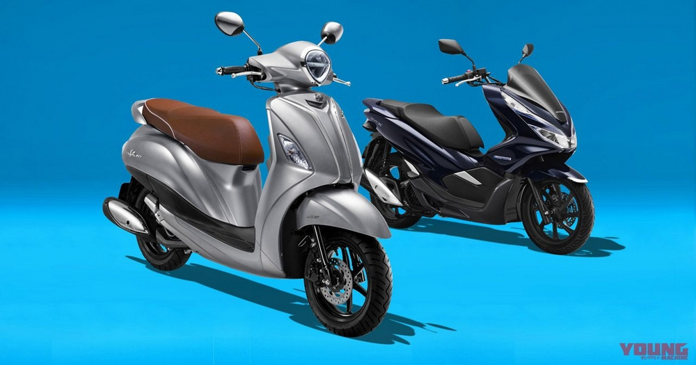 On July 16 2018 Yamaha Announced Grand Filano Hybrid A Scooter Equipped With System In Thailand Let S Discuss The Details While Comparing
