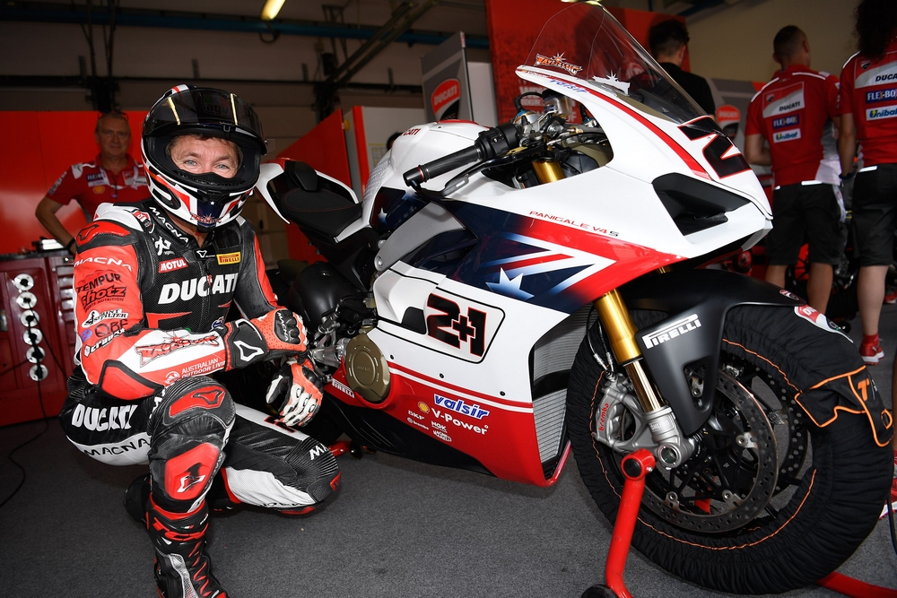 "All thirteen Panigale V4 S bikes from the ""Race of Champions"" have"