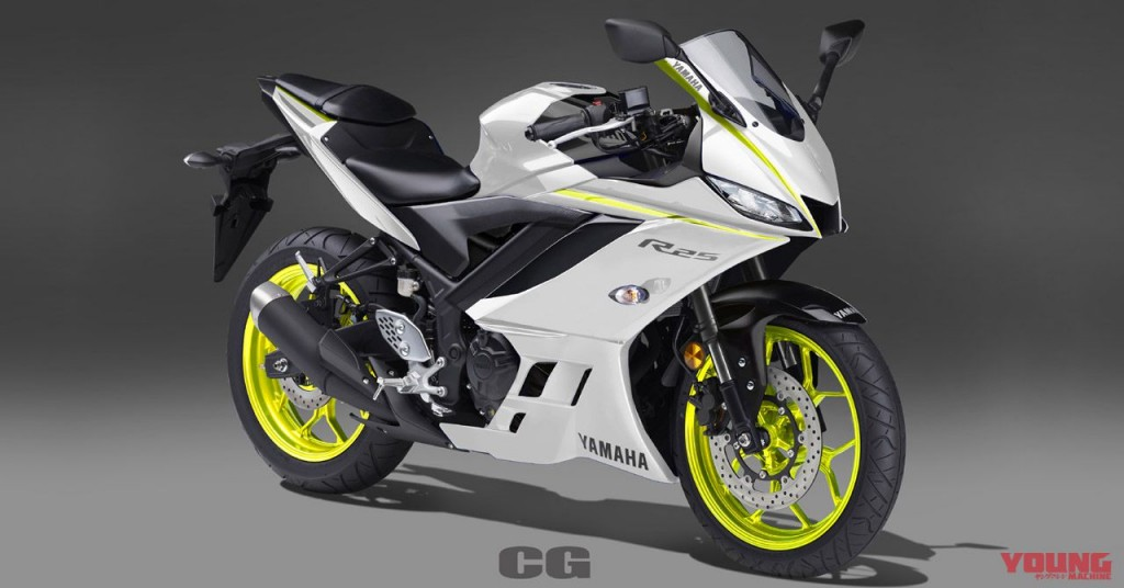 Scoop 2019 New Yzf R25 Yzf R3 Color Expectations Webike Moto News