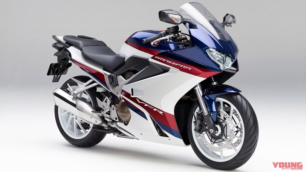 2019 Honda Vfr 800f New Color Interceptor Image Webike