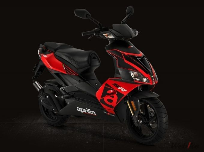 7cf1d772276 [New Motorcycle] APRILIA [SR50R] Launched 2-cycle 50cc Engine Scooter  Corresponding to Environmental Regulations on November 30