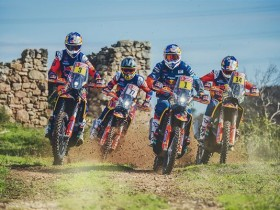 KTM Dakar_Action_Team_4_2019