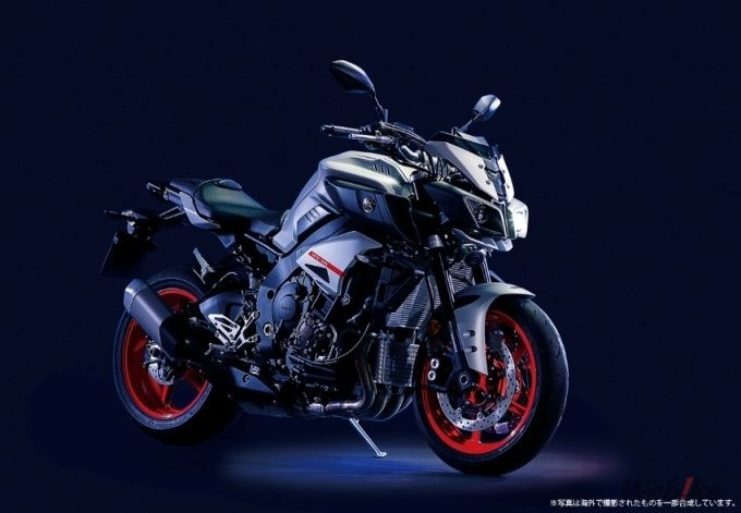 """New Motorcycle] The New Color of YAMAHA """"MT-10 ABS"""" 