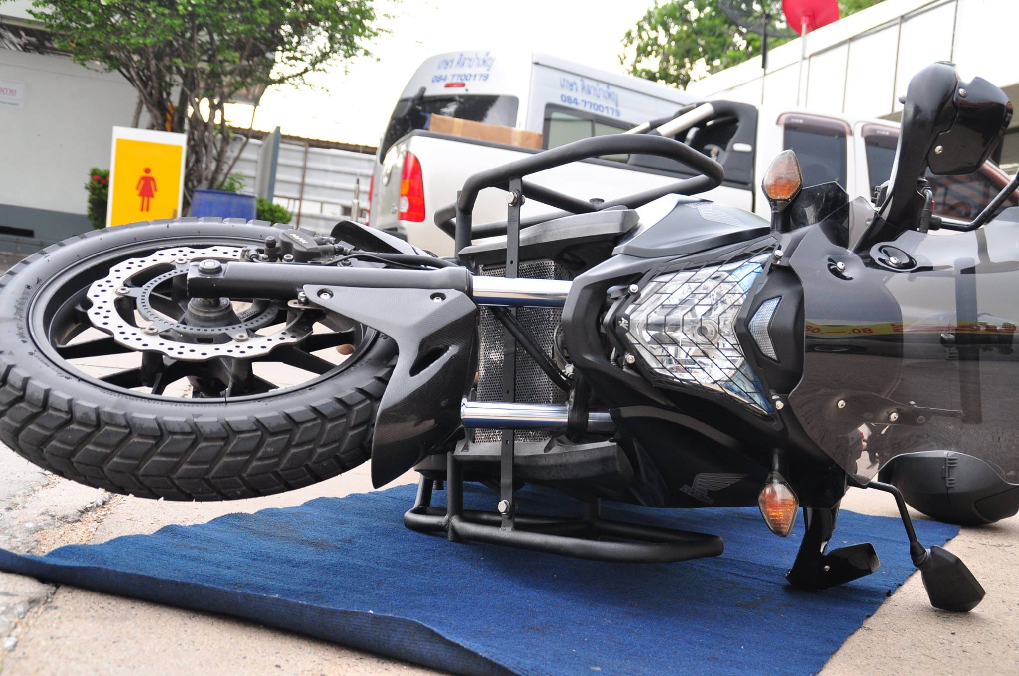 ADV TECH Thailand crash guard