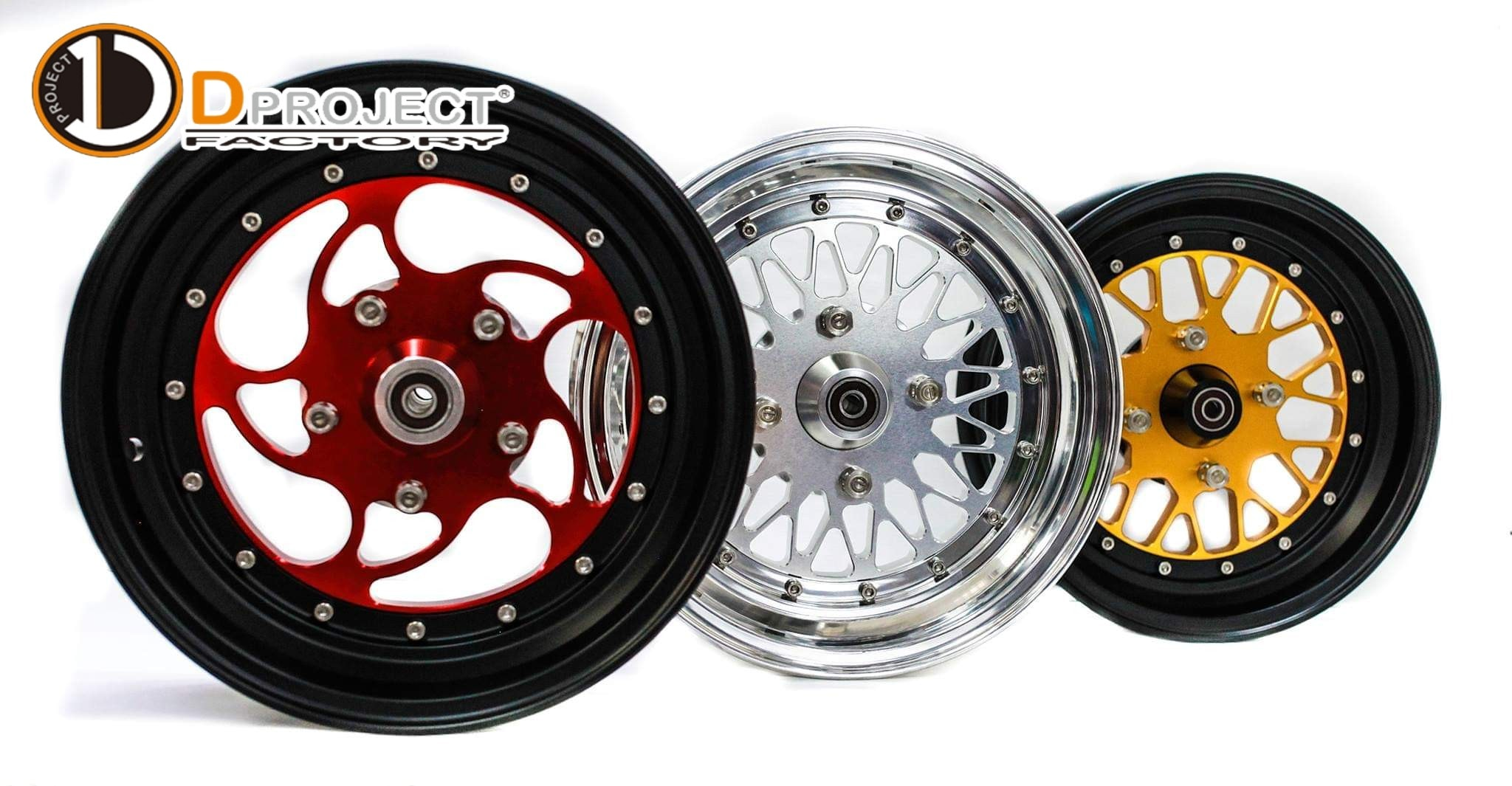 Dproject motorcycle wheels variation