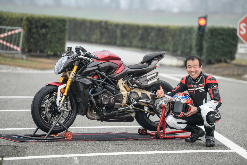"MV Agusta CEO Interview ""Nowadays High-performance Motorcycles are Dangerous for Beginners"""