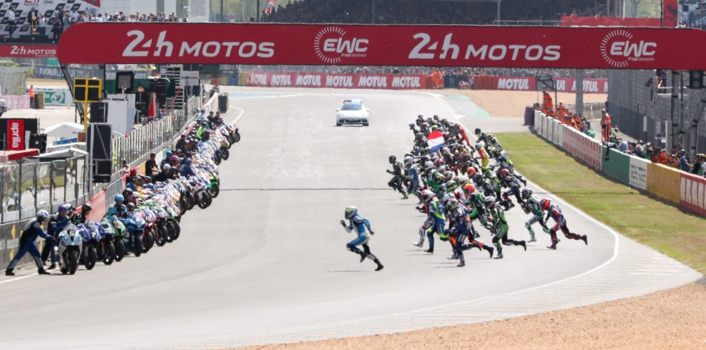 NEW ENTRY PROCEDURE FOR 24 HEURES MOTOS