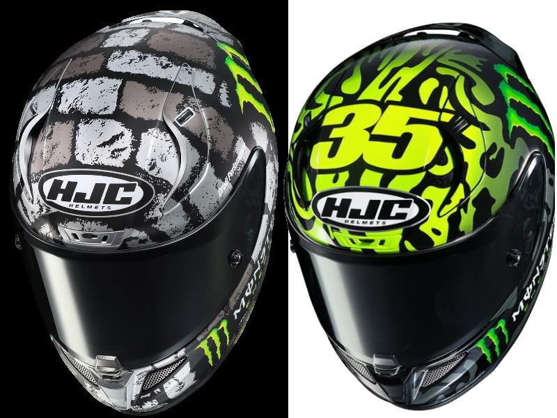 "The New Model of Monster ""Crutchlow Replica"" Helmet!"