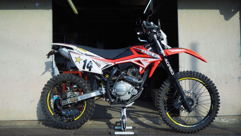 """[RR4T125] Try it out and get started off-road with Beta! """"Let's talk about the motorcycle we love, Webike users!"""""""