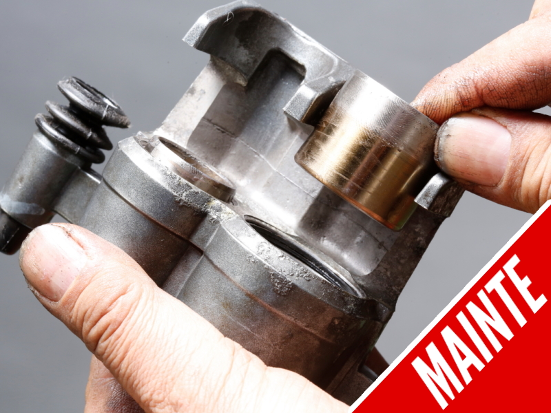 DIY! How to Remove and Diagnose the Hardened Fluid in the Brake Master Caliper