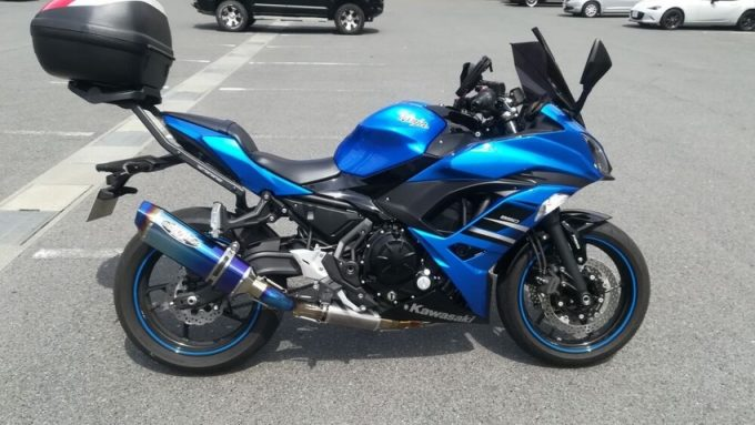 """[NINJA650 Review] The bike with a big heart """"Let's talk about my bike, Webike users!"""""""