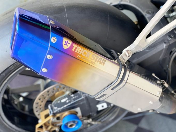 TRICKSTAR launches IKAZUCHI SILENCER with real racing specs