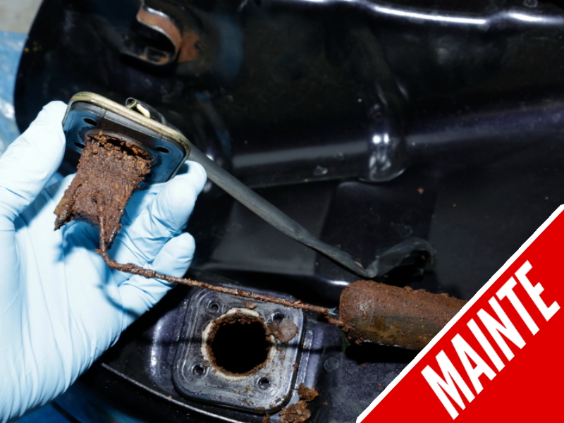 DIY! How to Remove Rust from Fuel Tank Along With Its Relevant Parts